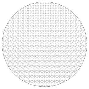 Circle pattern mandala for Circle pattern coloring pages
