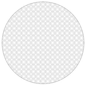 Circle Pattern Mandala