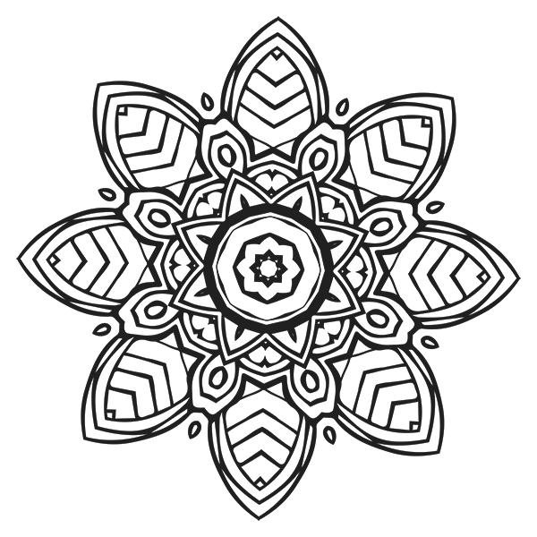 Mandala Coloring Page 20