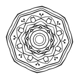 Mandala Coloring Page 23