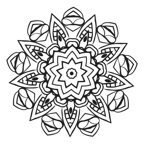 Mandala Coloring Page 26