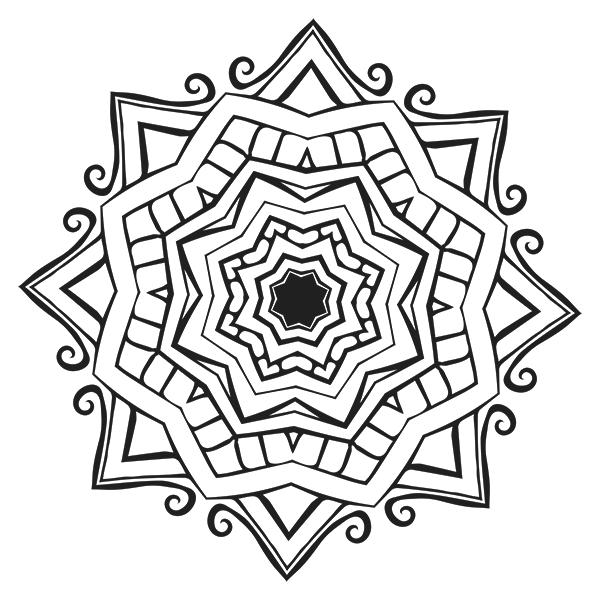 mandala coloring page  29