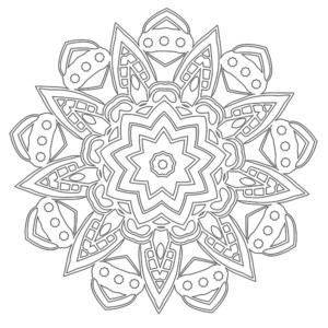 Mandala Coloring Page #39