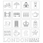 London Coloring Page