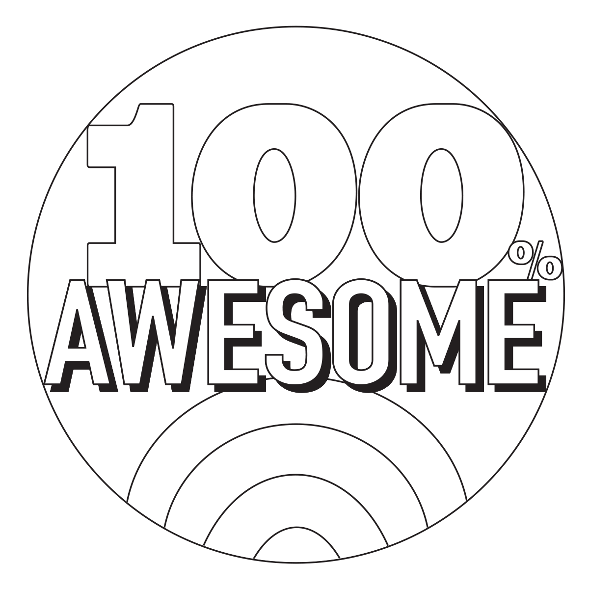 100 awesome coloring page for Awesome coloring page