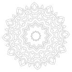 Mandala Coloring Page 70
