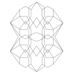 Geometric Abstract #3 Coloring Page