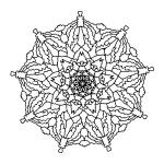 Mandala Coloring Page 91