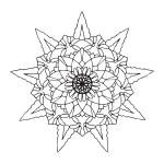 Mandala Coloring Page 92