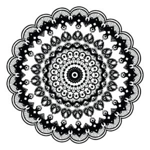 Modern Mandala Coloring