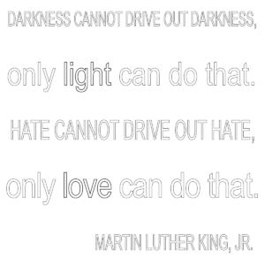 Love & Light Quote